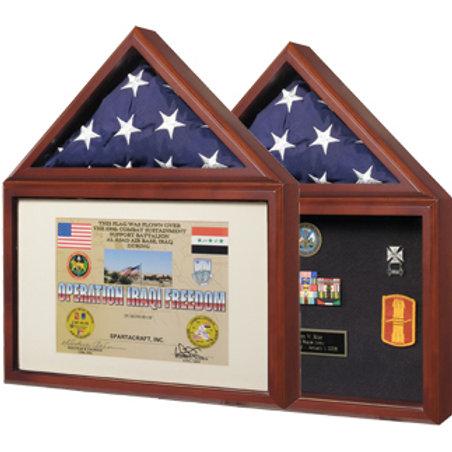 Capital Flag / Certificate Case - For Smaller Flag