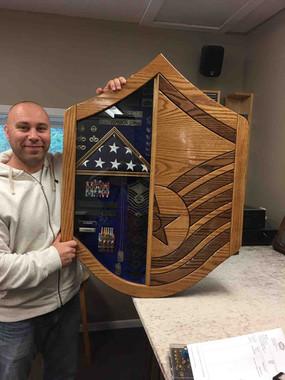Air Force Chevron Battle Box