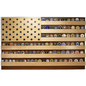 American Flag Coin Display