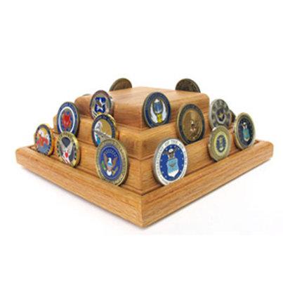 Coin Display - Pyramid 40/50