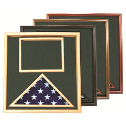 Flag and Document Case for Smaller Flag