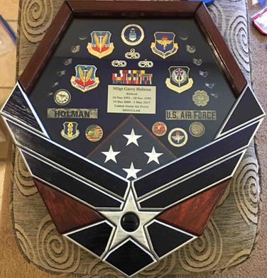 Air Force Symbol Display