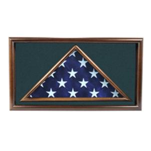 Folded Flag Case for Larger Memorial Size 5' X 9.5' Flag