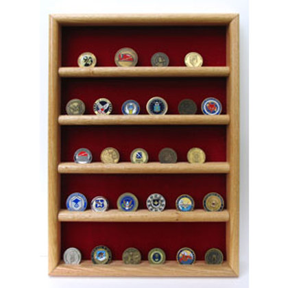 Coin Display - Wall Mount 30/40