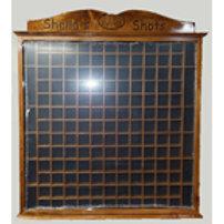 Custom Shot Glass Cabinet