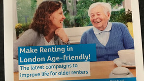 Silver Sharers featured in Age UK's London Blog