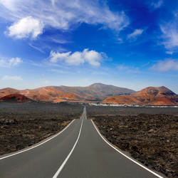 Lanzarote stunning roads