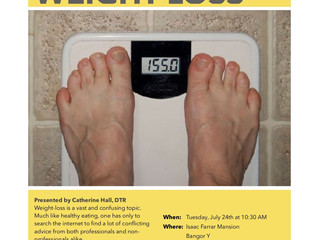 Nutrition Workshop - Sensible Weight-Loss