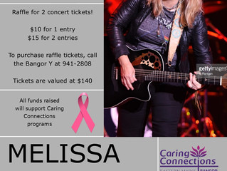 Melissa Etheridge Concert Raffle!