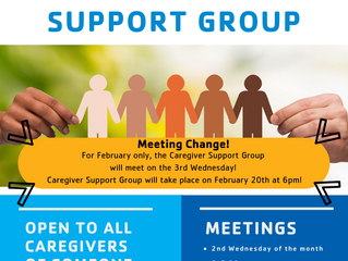 New date for Feb Caregiver Group!