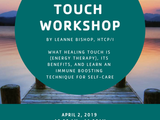 Healing Touch Workshop