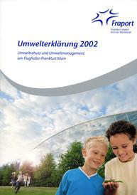 Umwelterklärung 2002 Fraport