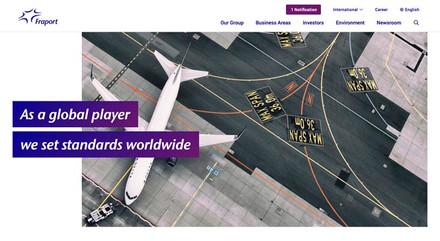 Titel Website Fraport