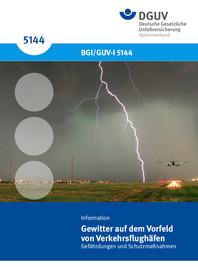 DGUV - Gewitter Broschüre