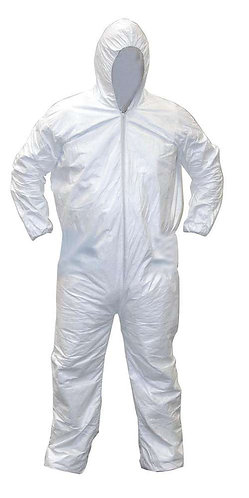 Disposable Coverall With Hood (25EA/CS)