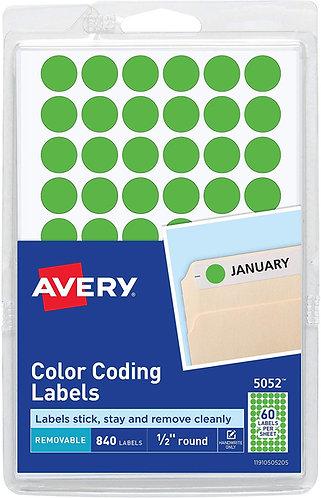 Color Coding Lables
