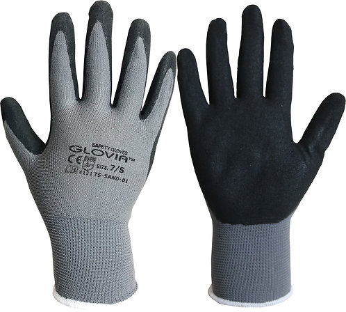 NBR Sand Finish Glove