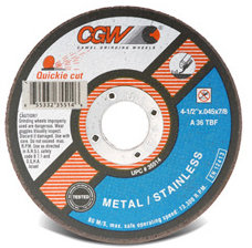 4-1/2 X .045 X 7/8 Cut Off Wheel (25EA)