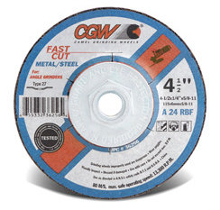 4 X ¼ X 5/8 Grinding Wheel (25EA)