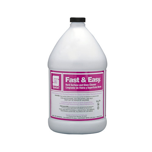 Fast And Easy Glass Cleaner (1GAL)