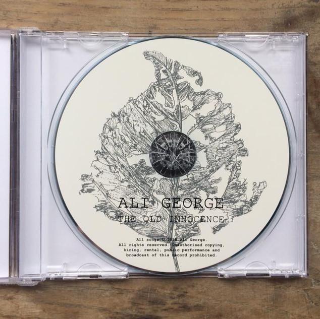Ali George Album CD Artwork