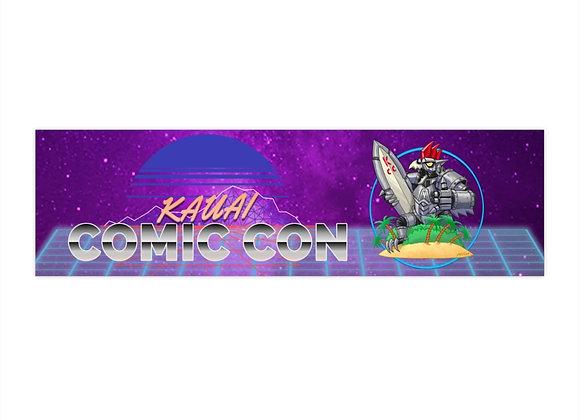 Kauai Comic Con Bumper Stickers