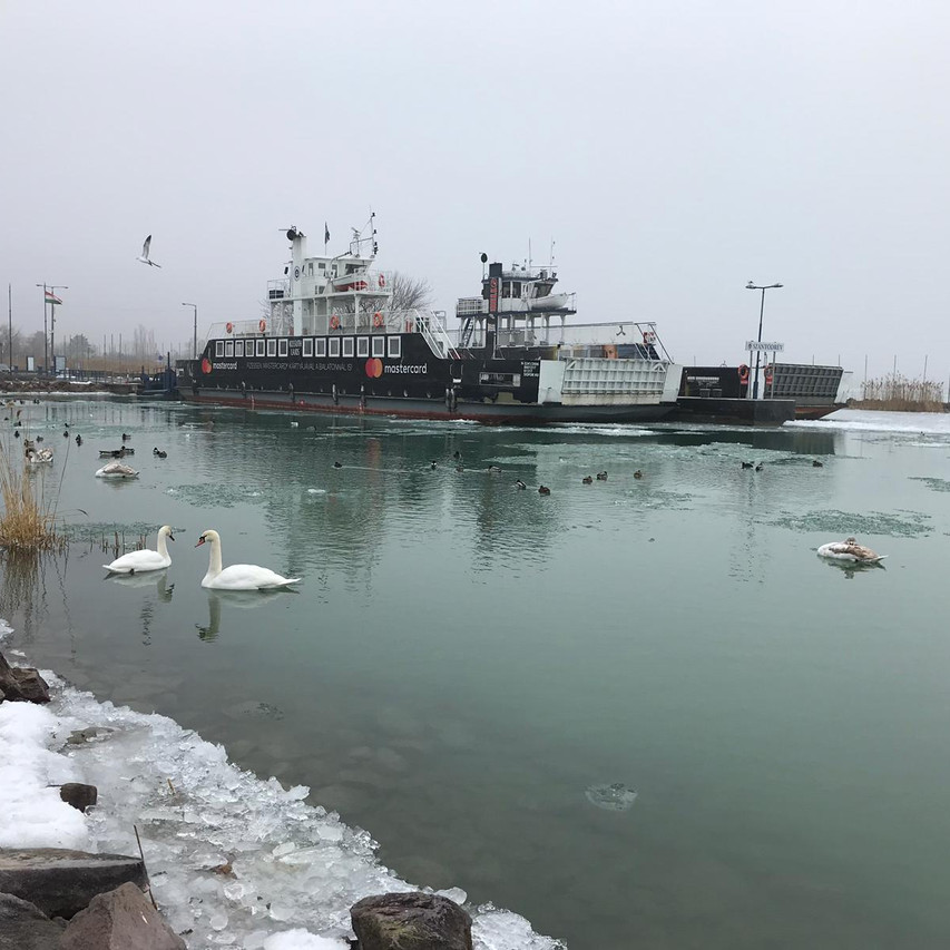 Ferry transformed into ice-breaker
