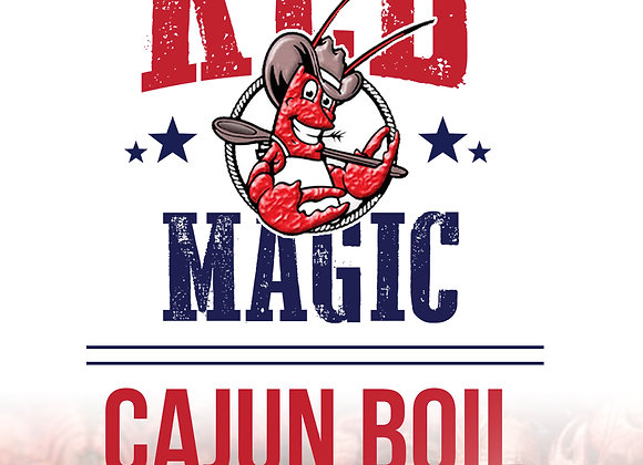 Red Magic Cajun Boil 1 Lb Bag