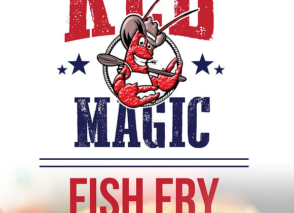 Red Magic Fish Fry (1 lb bag)
