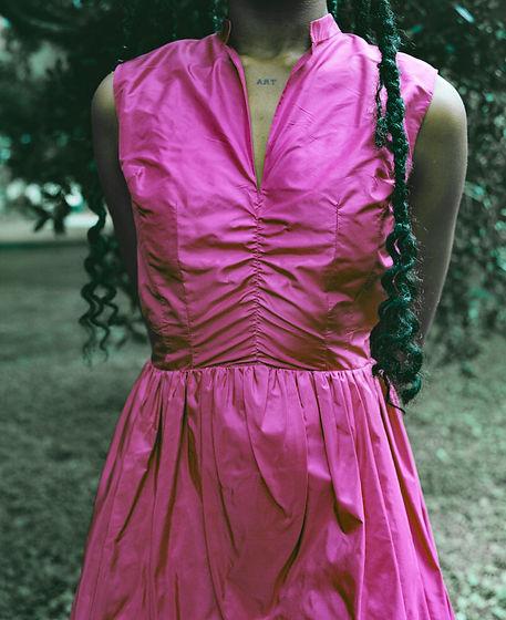 Briana Danyele Pink Dress Design
