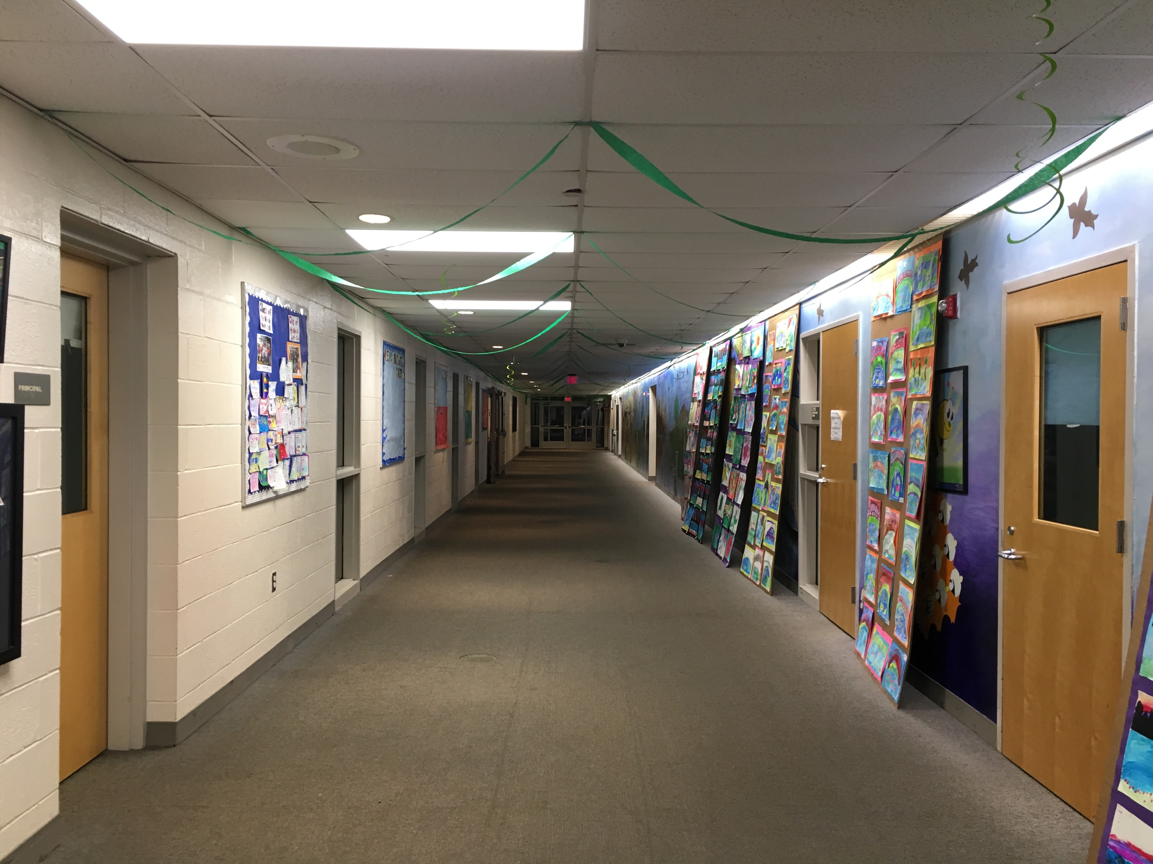 School Decorated for the Week!