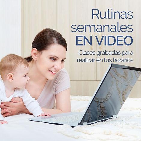 Videos Ejercicio Bebés