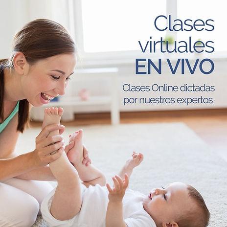 Clases Virtuales Bebés En Vivo