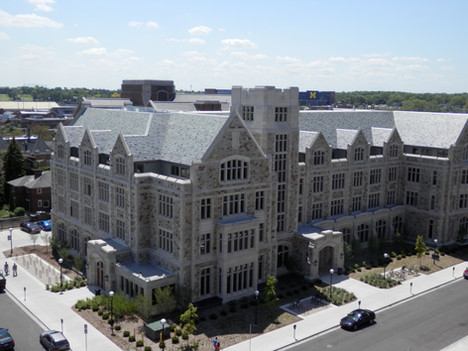 University of Michigan South Hall and Law Library