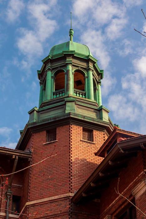 University of Michigan West Hall Lantern Restoration