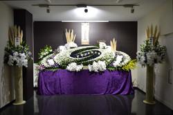 あゆみプラチナム生花祭壇