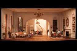 The Heiress Play Scenic Design