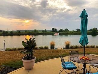 Still Summer on Sunset Lakes