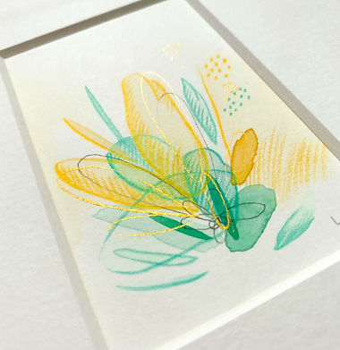mini-abstract-watercolour-watercolor-painting-green-and-yellow-blobs-discovering-freedom-k