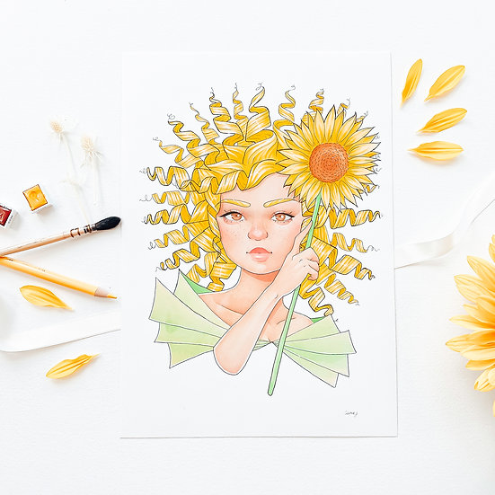 Sunflower - Limited Edition Print