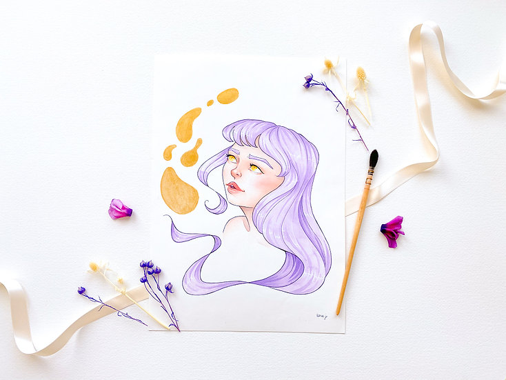 Lavender - Limited Edition Print