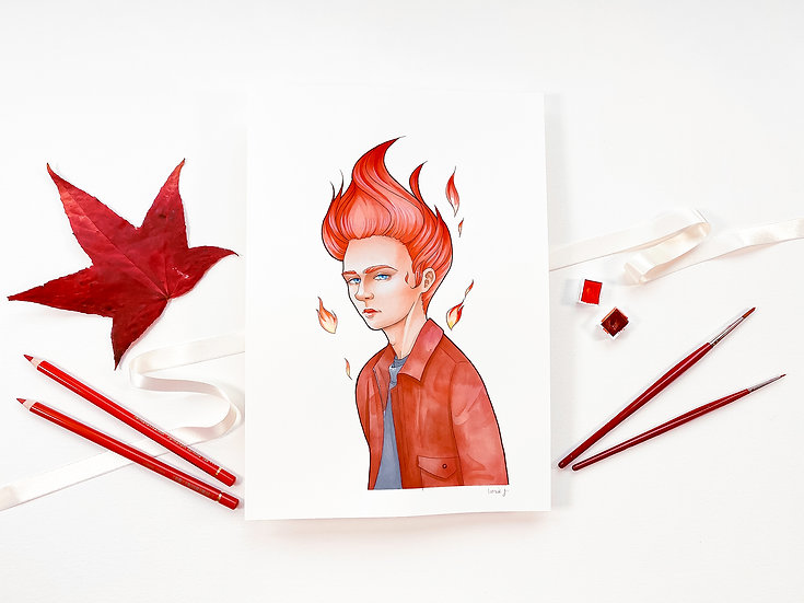 Red - Limited Edition Print