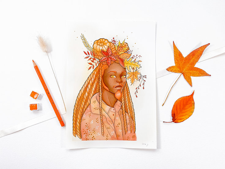 Autumn King - Limited Edition Print