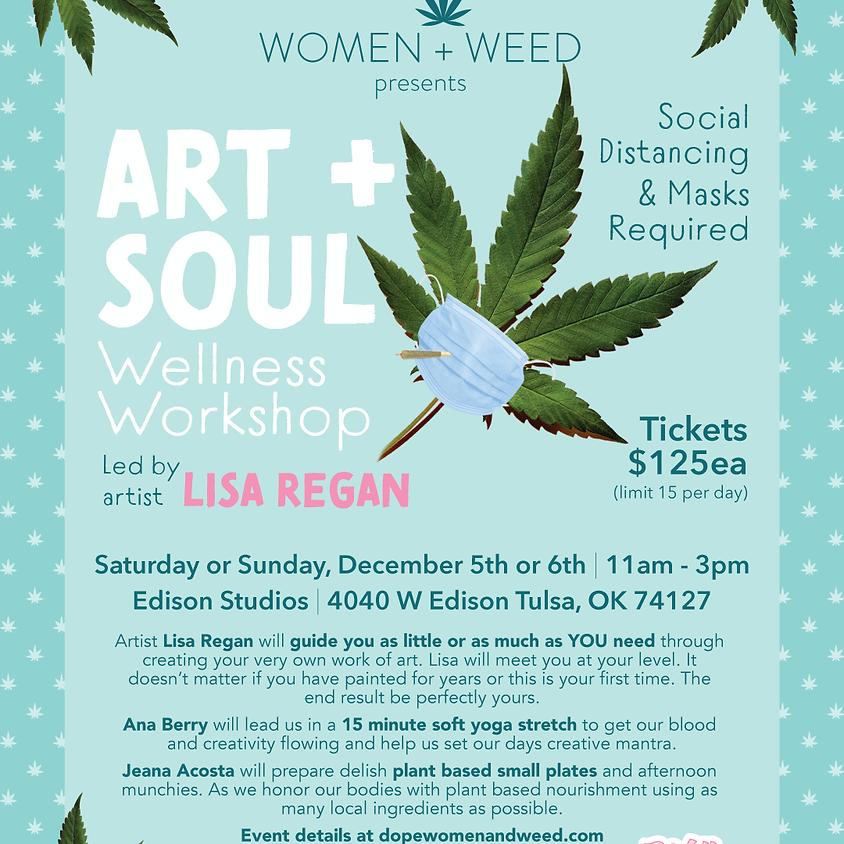 Art & Soul Wellness Workshop led by Artist Lisa Regan