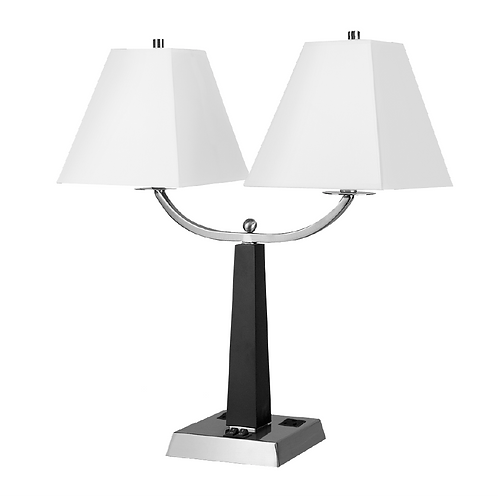 City Light Twin Table Lamp Startex