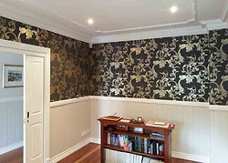 WALLPAPER - Upper walls wallpaper bright