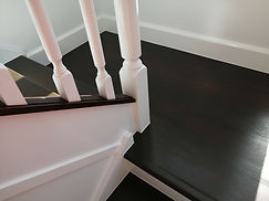 Modernized stairwell with very sharp edges - Annerley