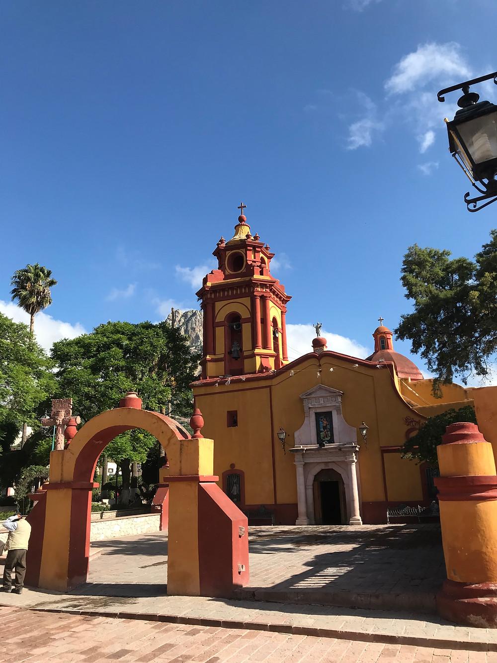 Bernal Mexico Church Centro