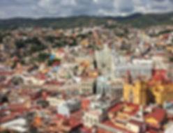 aerial view guanajuato mexico