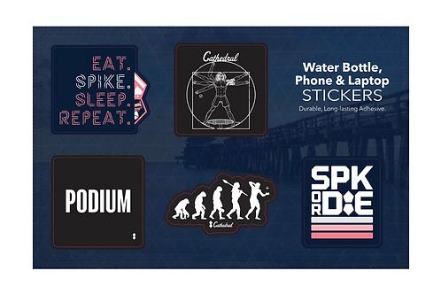 SPK Cathedral Sticker Pack Bundle